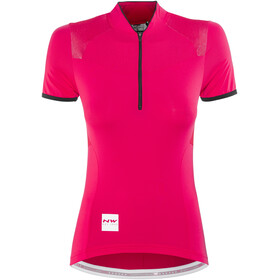 Northwave Venus 2 Bike Jersey Shortsleeve Women red/black